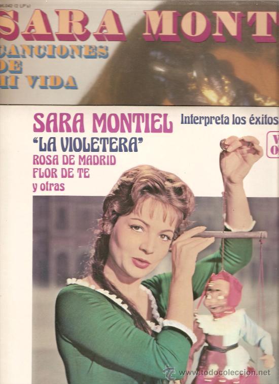 Discos de vinilo: SARA MONTIEL & SARITA MONTIEL - LP´S A ELEGIR - NUEVOS - Foto 4 - 48916516