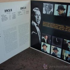 Discos de vinilo: FRANK SINATRA ' SINATRA THE GREAT YEARS 1953 / 1960 ' 3XLP33 1ª ED. 1962 LOS ANGELES-USA CAPITOL. Lote 21202646