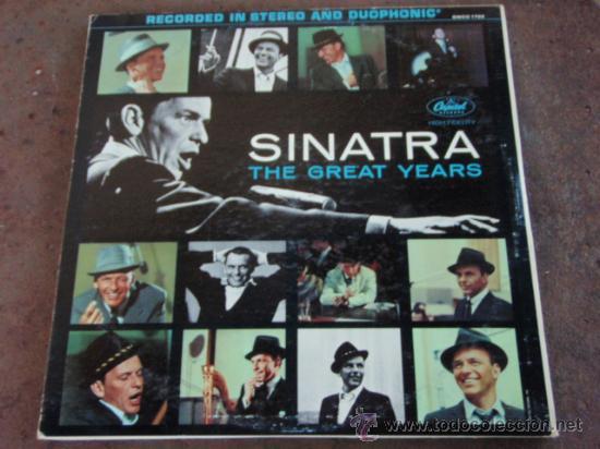 Discos de vinilo: FRANK SINATRA SINATRA THE GREAT YEARS 1953 / 1960 3xLP33 1ª ED. 1962 LOS ANGELES-USA CAPITOL - Foto 2 - 21202646