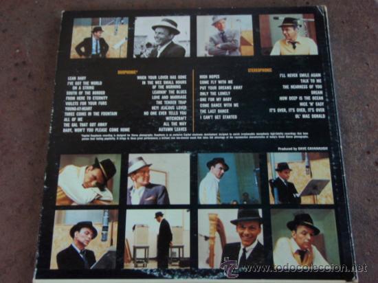 Discos de vinilo: FRANK SINATRA SINATRA THE GREAT YEARS 1953 / 1960 3xLP33 1ª ED. 1962 LOS ANGELES-USA CAPITOL - Foto 3 - 21202646