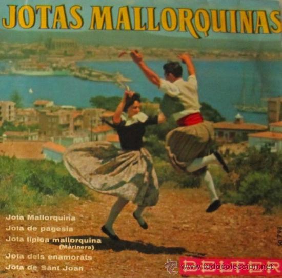 JOTAS MALLORQUINAS - AGRUPACIÓN CASA OLIVER, 1963 (Música - Discos de Vinilo - EPs - Otros estilos)