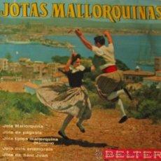 Discos de vinilo: JOTAS MALLORQUINAS - AGRUPACIÓN CASA OLIVER, 1963. Lote 26415233