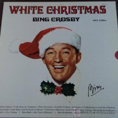 Discos de vinilo: BING CROSBY 'WHITE CHRISTMAS' (SILENT NIGHT-WHITE CHRISTMAS-JINGLE BELLS-SILVER BELLS...) 1970. Lote 182788168