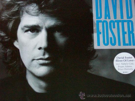 DAVID FOSTER,RIVER OF LOVE DEL 90 (Música - Discos - LP Vinilo - Pop - Rock Internacional de los 90 a la actualidad)