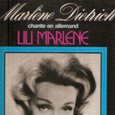 Discos de vinilo: 3 LP´S GRANDES ESTRELLAS: MARLENE DIETRICH . BING CROSBY & CARMEN MIRANDA. Lote 21229640