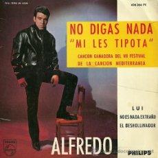 Discos de vinilo: ALFREDO EP SELLO PHILIPS AÑO 1965. Lote 21268985