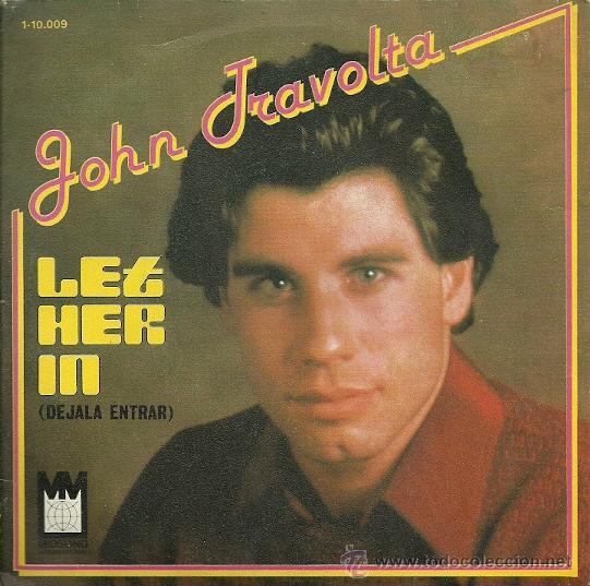 JOHN TRAVOLTA SINGLE SELLO MIDSONG AÑO 1979. (Música - Discos - Singles Vinilo - Bandas Sonoras y Actores)