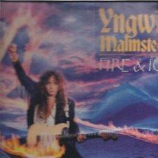 Discos de vinilo: YNGWIE MALMSTEEN FIRE & ICE. Lote 21293934