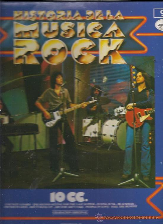HISTORIA DE LA MUSICA ROCK 10 CC (Música - Discos - LP Vinilo - Pop - Rock - Extranjero de los 70)