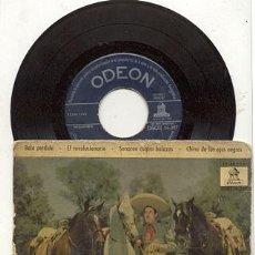 Discos de vinilo: EP 45 RPM / ANTONIO AGUILAR / BALA PERDIDA // EDITADO POR ODEON . Lote 21318668