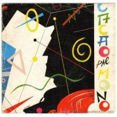 Discos de vinilo: CACAO PAL MONO – INCOMUNIQUE / LUIS CARLOS – SG SPAIN 1983 – ACUARIO A-005 - BCN 80'S. Lote 25748098