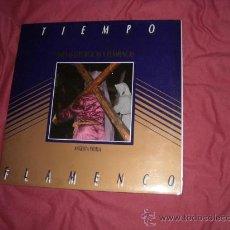 Discos de vinilo: SAETAS LITURGICAS Y FLAMENCAS ANGELITA YRUELA LP PORTADA DOBLE SEMANA SANTA. Lote 22554945