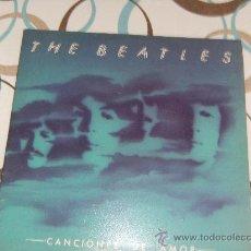 Discos de vinilo: THE BEATLES. CANCIONES DE AMOR. Lote 51405446