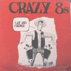 Discos de vinilo: CRAZY 8'S - LAW AND ORDER - (USA-RED RUM-1984) SKA LP + INSERT. Lote 21365750