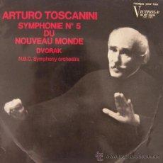 Discos de vinilo: ARTURO TOSCANINI - SINFONÍA Nº 5 DVORAK - NBC SYMPHONY ORCHESTRA. Lote 21383459