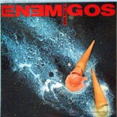 Discos de vinilo: LOS ENEMIGOS LP - LA VIDA MATA - GASA 1990 - PORTADA ABIERTA. Lote 26743369