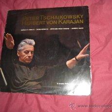 Discos de vinilo: TSCHAIKOWSKY..KARAJAN..BERLIN.. D.G.104811 GERMANY VER FOTO ADICIONAL. Lote 21390476