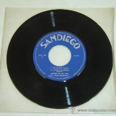 Discos de vinilo: DISCO SINGLE CORAL GEIEG DIRECTOR JOSEP CASADEMONT AÑO 1965 - SIN CARATULA - CANÇÓ DE BRESSOL. Lote 23675628