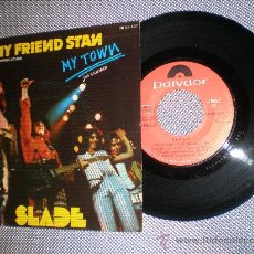 Discos de vinilo: SLADE- MY FRIEND STAN- MADE IN SPAIN IN 1973.. Lote 22763468