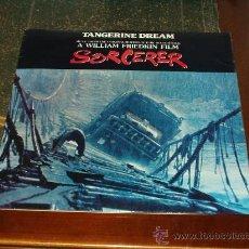 Discos de vinilo: TANGERINE DREAM LP SORCERER SOUNTRACK. Lote 21395563