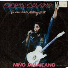 Discos de vinilo: EDDY GRANT / JAMAICAN CHILD - COCKNEY BLACK (SINGLE 1982). Lote 21397091
