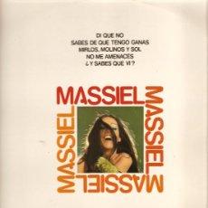 Discos de vinilo: LP MASSIEL - TEMAS DE AUTE , MANOLO DIAZ, JOSE ALFREDO JIMENEZ , ETC . Lote 21409407