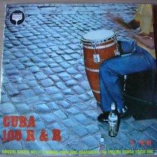 Discos de vinilo: CUBA 100 R & R - LP DOBLE -. Lote 27042460