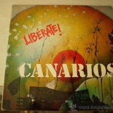Discos de vinilo: LP. CANARIOS. LIBERATE!. ED. ORIGINAL 1971. Lote 27516448