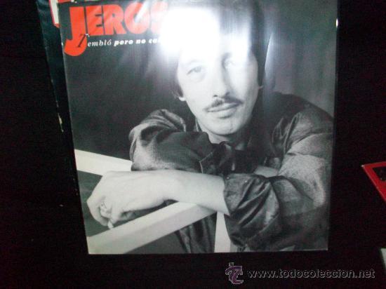 JEROS LP TEMBLO PERO NO CALLO (CHICHOS) (Música - Discos - LP Vinilo - Flamenco, Canción española y Cuplé)