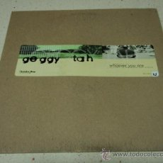 Discos de vinilo: GEGGY TAH ( WHOEVER YOU ARE 4 VERSIONES ) USA - 1996 MAXI33 WARNER BROS RECORDS. Lote 21449516
