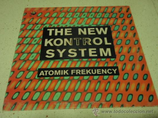 THE NEW KONTROL SYSTEM (ATOMIK FREKUENCY - BREAKING THE SOUND'S BARRIER - OSCILATOR CLASSICS) BARNA (Música - Discos - LP Vinilo - Techno, Trance y House)