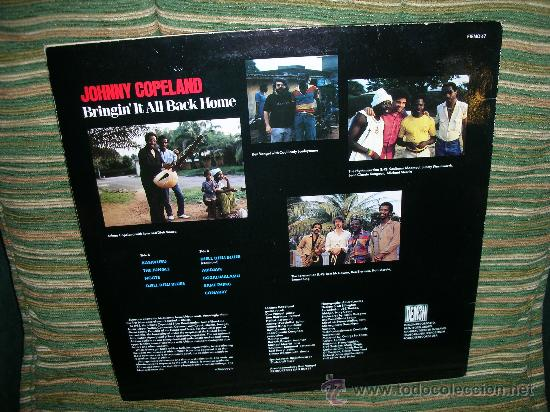 Discos de vinilo: JOHNNY COPELAND - BRINGIN´IT ALL BACK HOME LP . ORIGINAL INGLES - DEMON RECORDS 1986 - Foto 18 - 27358495