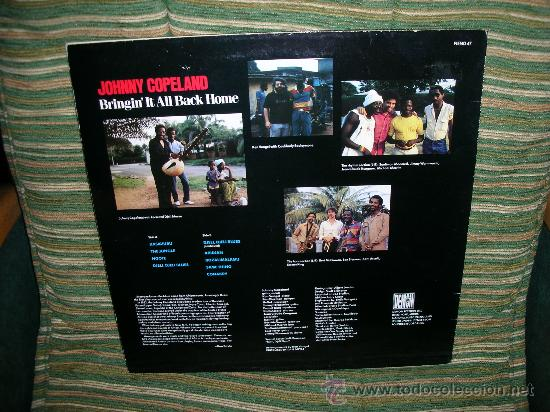 Discos de vinilo: JOHNNY COPELAND - BRINGIN´IT ALL BACK HOME LP . ORIGINAL INGLES - DEMON RECORDS 1986 - Foto 14 - 27358495