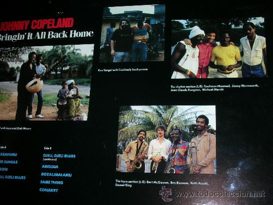 Discos de vinilo: JOHNNY COPELAND - BRINGIN´IT ALL BACK HOME LP . ORIGINAL INGLES - DEMON RECORDS 1986 - Foto 16 - 27358495