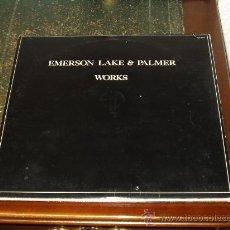 Discos de vinilo: EMERSON LAKE & PALMER DOBLE LP WORKS. Lote 30088408