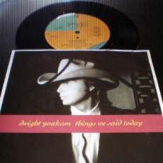 Discos de vinilo: DWIGHT YOAKAM- THINGS WE SAID TODAY- MADE IN FRANCE.. Lote 27590997