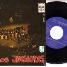 Discos de vinilo: EP GRUPO LOS JAVALOYAS - TODO MURIO SIN TU AMOR - REIR, REIR-MARGARITA - VUELO 502. Lote 21495359