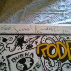 Discos de vinilo: ¡¡ MUSEO DEL POP !! - FIRMADO POR ANDRÉS CALAMARO Y ARIEL ROT - LOS RODRIGUEZ - BUENA SUERTE (1991). Lote 21501095