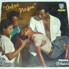 Discos de vinilo: DISCO SINGLE VINILO ORFEO NEGRO BANDA ORIGINAL DEL FILM - PHILIPS 1959. Lote 24686615