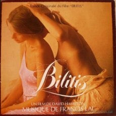 Discos de vinilo: BILITIS / BANDA SONORA ORIGINAL (LP). Lote 21517034
