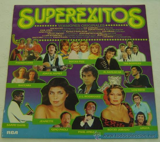DISCO LP VINILO SUPEREXITOS- RCA 1981 (Música - Discos - LP Vinilo - Grupos Españoles de los 70 y 80)