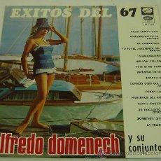 Discos de vinilo: DISCO LP VINILO EXITOS DEL 67-ALFREDO DOMENECH Y SU CONJUNTO-LA VOZ DE SU AMO - EMI. Lote 26875769
