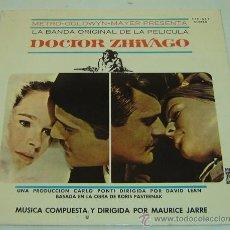 Discos de vinilo: DISCO LP VINILO BANDA SONORA ORIGINAL DOCTOR ZHIVAGO-MGM RECORDS 1966. Lote 24811205