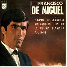 Discos de vinilo: FRANCISCO DE MIGUEL. Lote 31894113