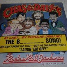Discos de vinilo: CHAS & DAVE'S ( ROCK 'N' ROLL JAMBOREE (MEDLEY) - THE B******* SON! ) ENGLAND-1985 MAXI45. Lote 21521935