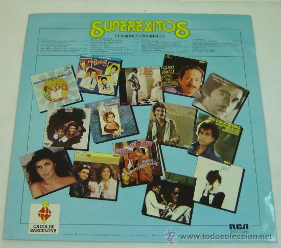 Discos de vinilo: DISCO LP VINILO SUPEREXITOS- RCA 1981 - Foto 2 - 23805632