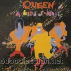 Discos de vinilo: QUEEN - A KIND OF MAGIC REEDICION REMASTERIZADA 2009 CARPETAS ABIERTA. Lote 21530228
