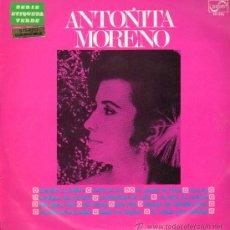 Discos de vinilo: ANTOÑITA MORENO - ANTOÑITA MORENO - LP 1969. Lote 21544759