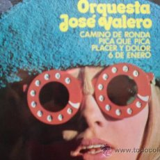 Discos de vinilo: ORQUESTA JOSE VALERO-SG-1972-CAMINO DE RONDA-. Lote 21561663
