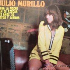Discos de vinilo: ORQUESTA JULIO MURILLO-LLEGA LA NOCHE-SG-1973-. Lote 21561762